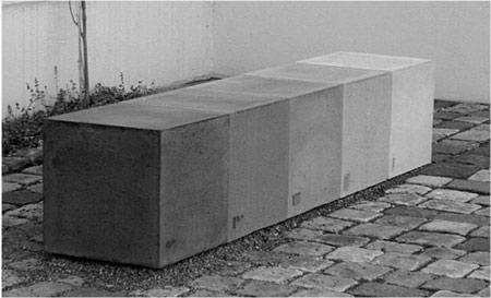 sitzwürfel beton