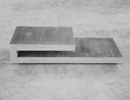 """T9"""" couchtisch – beton – 24x56x128 cm - 16 von 24"""